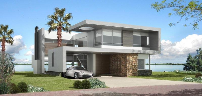Sector inmobiliario y constructoras for Casas modernas nordelta
