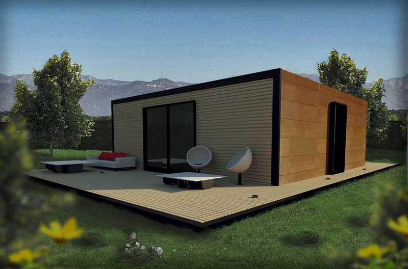 Sector inmobiliario y constructoras - Viviendas modulares diseno ...