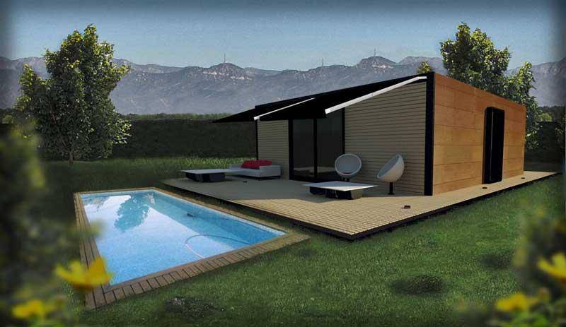 Casas modulares de diseo amazing casa modular diseo - Casas inhaus opiniones ...