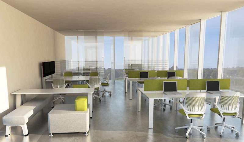 Sector inmobiliario y constructoras for Diseno de oficinas arquitectura