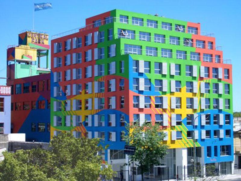 Sector inmobiliario y constructoras - El color en la arquitectura ...
