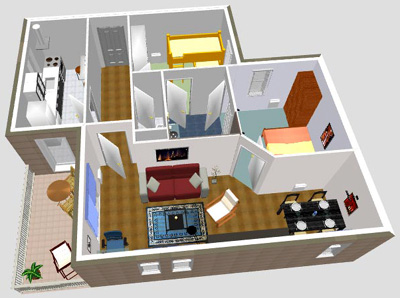 Software sweet home 3d programa for Programa de decoracion de interiores online