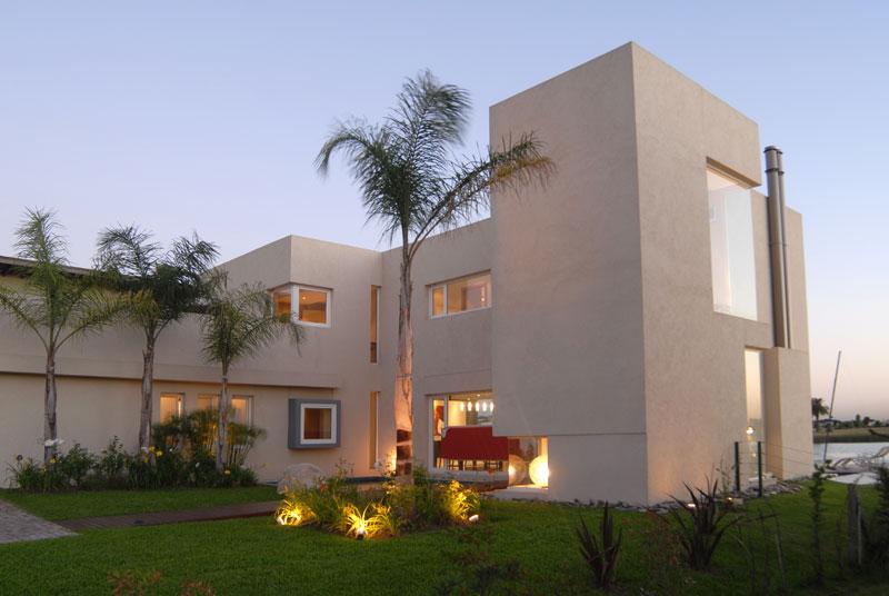 Casa junto al agua ramirez arquitectura arquimaster for Casas modernas nordelta