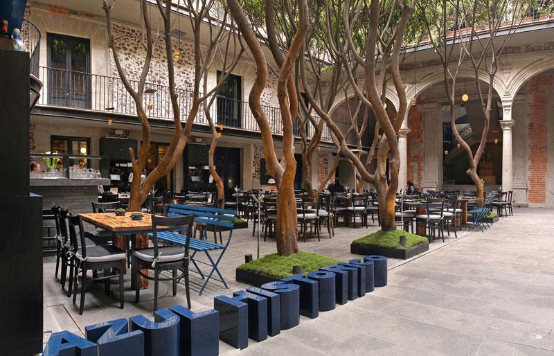 Restaurante Azul Hist Rico Kababie Arquitectos Arquimaster