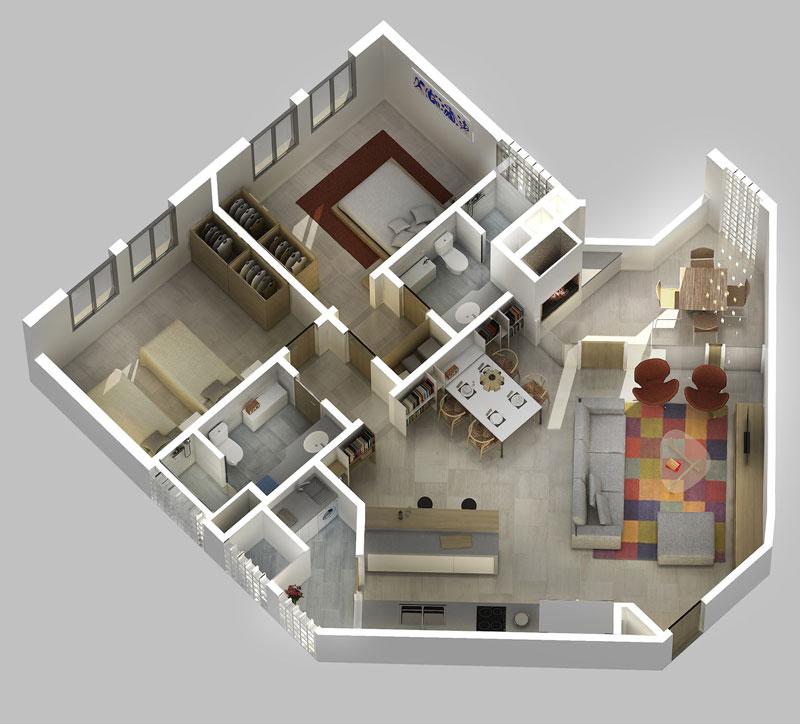 Condominio de viviendas moravia mendezdelpozo for Constructoras de viviendas