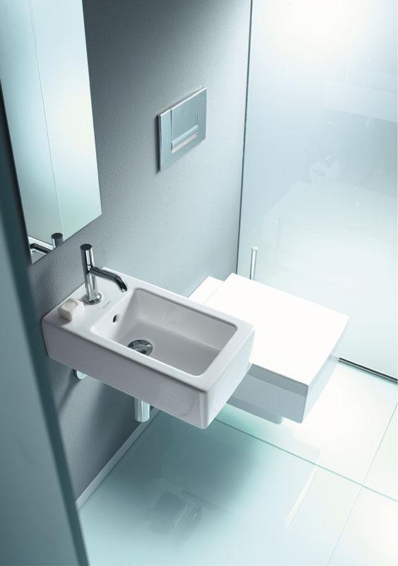 Un buen diseño del baño de cortesía no es una cuestión de espacio ...
