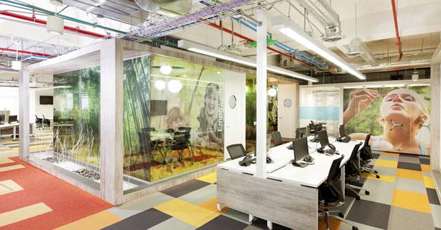 En octubre el costo de construcci n y equipamiento de for Diseno de oficinas corporativas