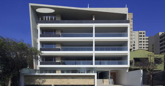 Edificio en los casta os v rtice arquitectos arquimaster for Edificios educativos arquitectura