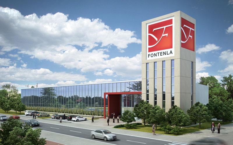 Fontenla inició la construcción de su sede en el Polo Mueblero ...