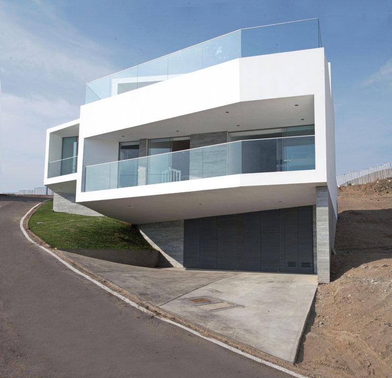 Casa playa lomas j4 v rtice arquitectos arquimaster for Fotos de casas modernas en lima peru