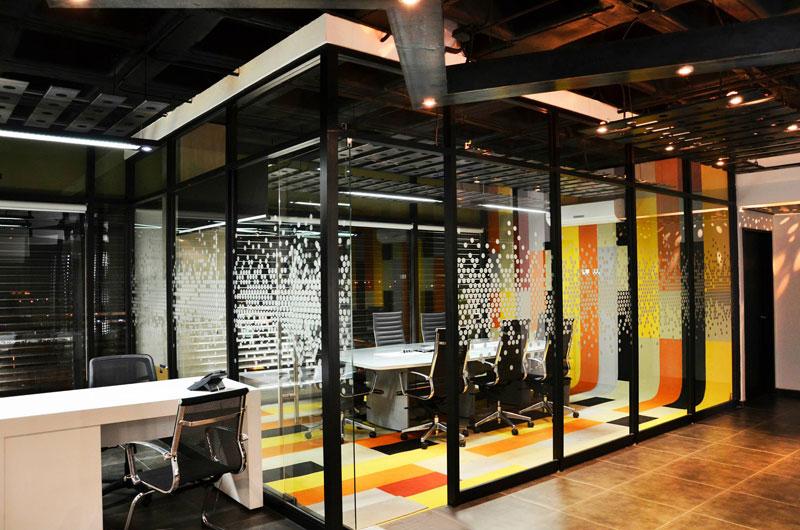 Oficinas corporativas m307 tabb architecture arquimaster for Diseno oficinas industriales