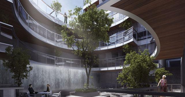 Edificio residencial gl31 pascal arquitectos arquimaster for Accesos arquitectura
