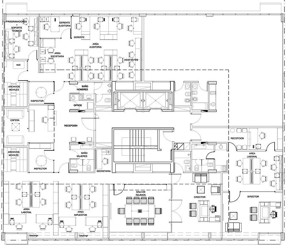 Oficina pi1639 epstein arquitectos arquimaster for Oficinas de arquitectura