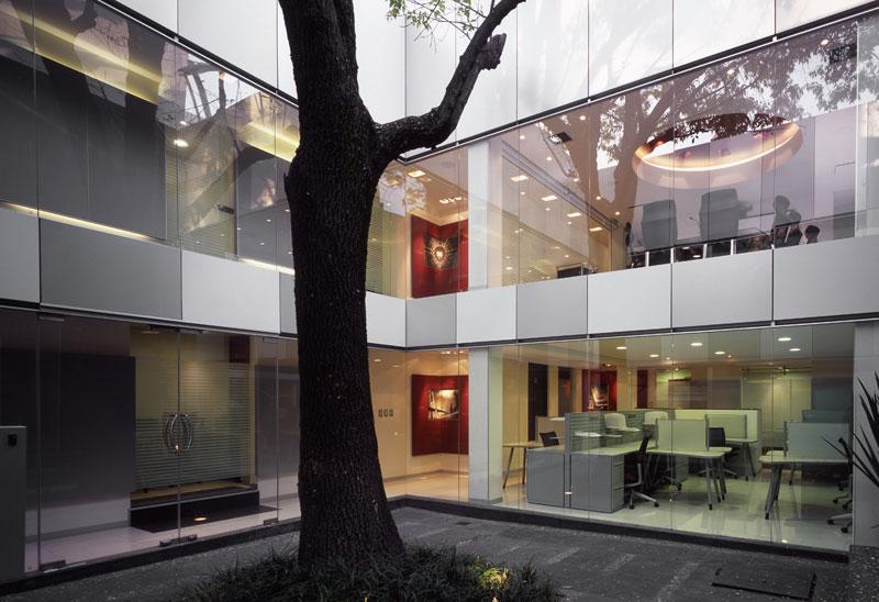 Oficinas corporativas alef art arquitectos arquimaster for Arquitectura de oficinas