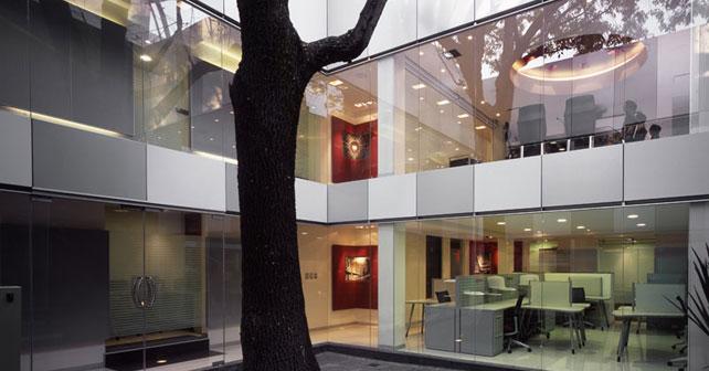 Oficinas corporativas alef art arquitectos arquimaster for Diseno de oficinas corporativas