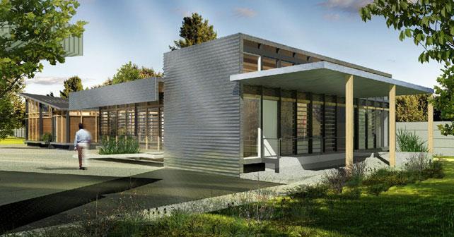 Oficinas y casa de campo fesa campo sayula ggh for Portal de arquitectos casa de campo