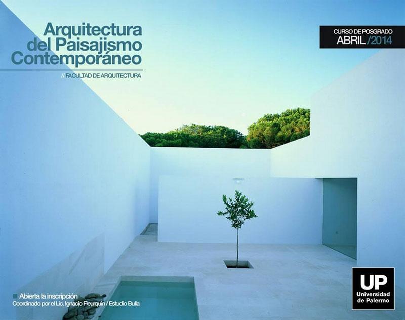 Programa de posgrado up arquitectura del paisaje for Programas de arquitectura