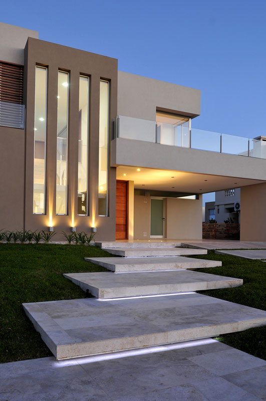Casa franklin epstein arquitectos arquimaster - Fachadas arquitectura ...