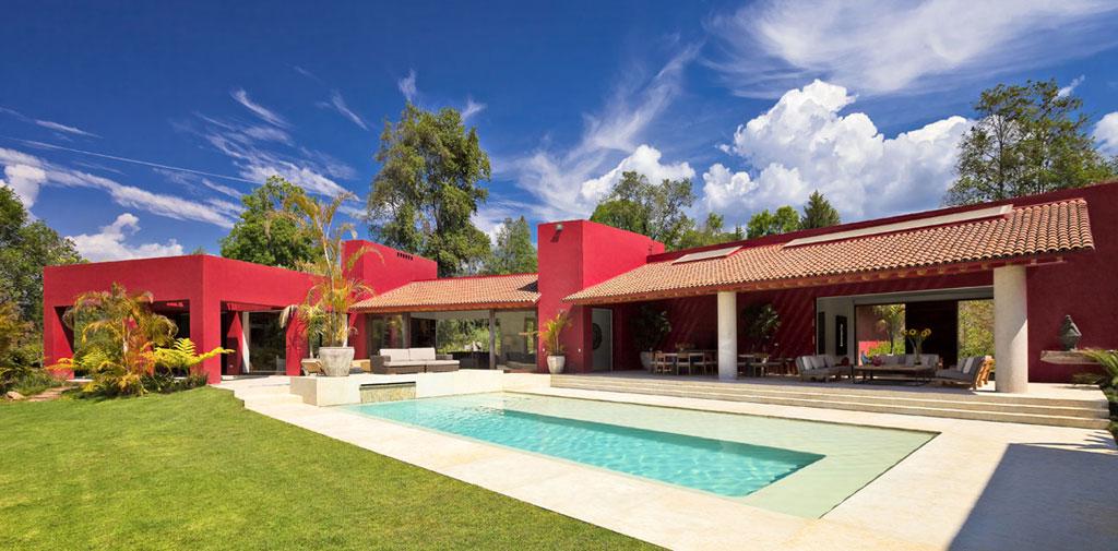 Casa las moras l pez duplan arquitectos arquimaster for Casa con piscina fin de semana