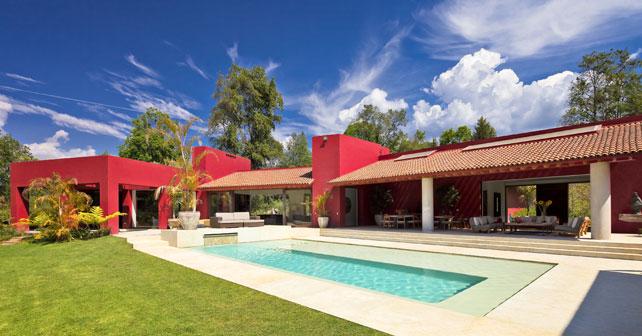 Casa las moras l pez duplan arquitectos arquimaster for Casa con piscina fin de semana madrid