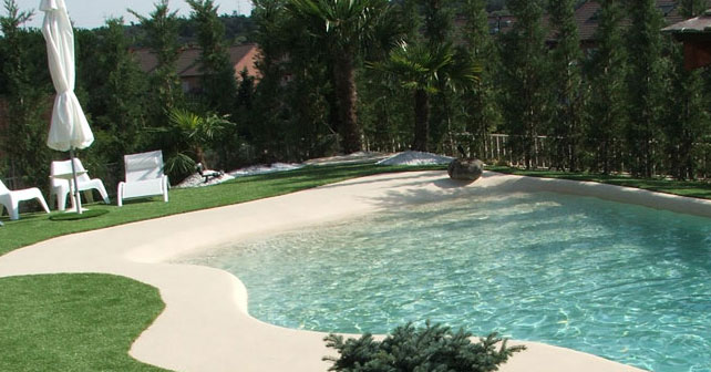 Piscinas de arena construir en invierno para disfrutar en verano arquimaster - Imagenes de piscinas de arena ...