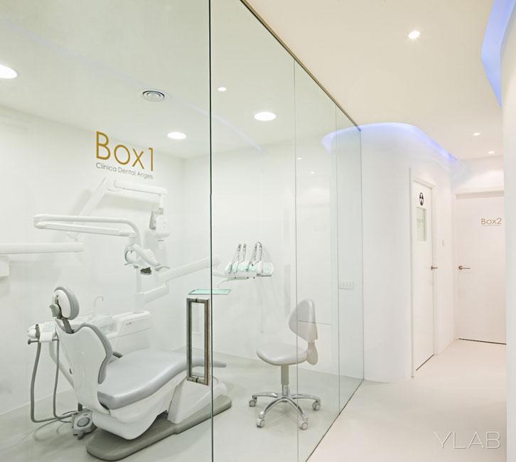 Clinica dental ylab arquitectos barcelona arquimaster for Master interiorismo barcelona