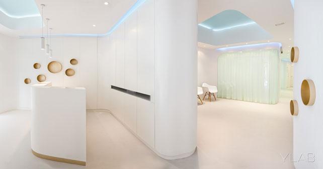 Clinica dental ylab arquitectos barcelona arquimaster - Clinica dental moderna ...