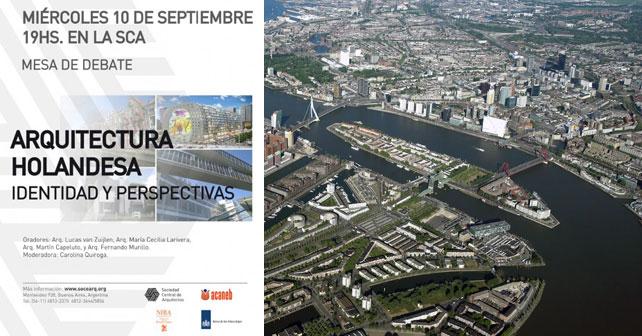 Mesa De Debate Arquitectura Holandesa Identidad Y
