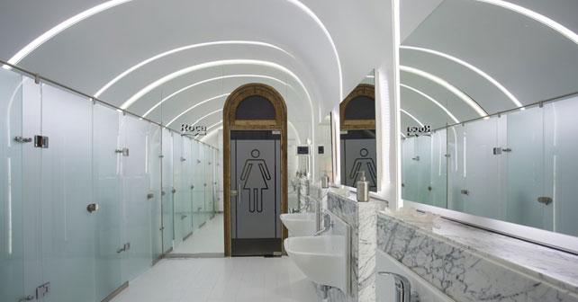 Perfect Baño Público Damas Roca (Espacio 16 Casa FOA 2014) / Renata Gilli Faudin,  Silvia Acuña Y Jimena Vicario