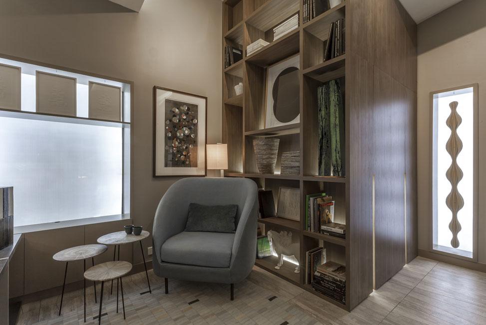 Loft en esquina espacio 21 casa foa 2014 estudio for Muebles abadia
