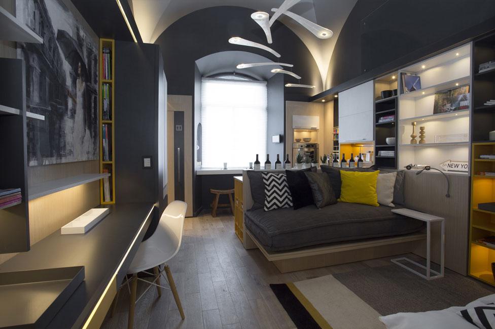 Studio espacio 27 casa foa 2014 estudio pqr arquimaster for Decoracion casa foa