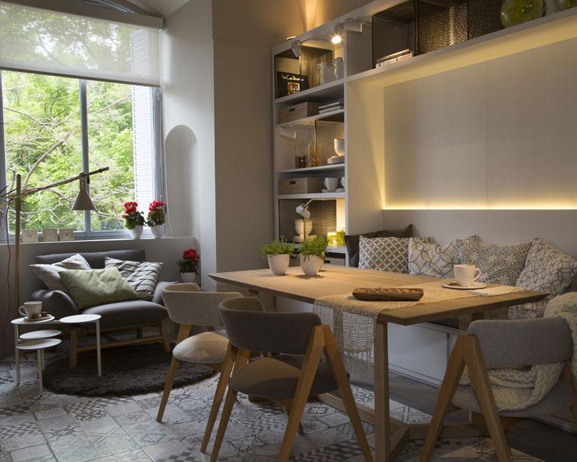Comedor diario espacio 30 casa foa 2014 estudio judith for Comedor de diario