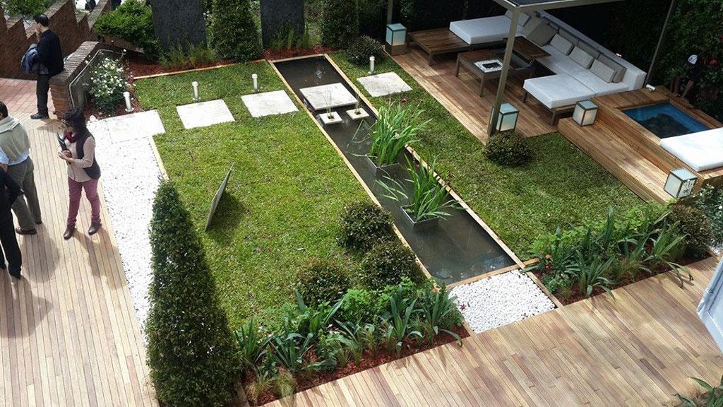 Paisajismo espacio 3 casa foa 2014 viviana dabul y for Paisajismo jardines casas