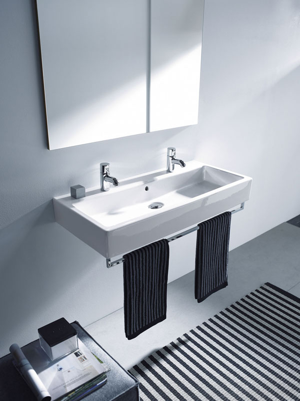 lavabo doble de duravit arquimaster. Black Bedroom Furniture Sets. Home Design Ideas