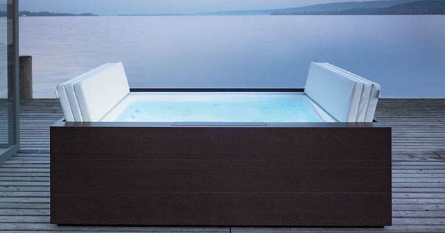 Piscinas sundeck y blue moon de duravit un balneario en for Software diseno piscinas