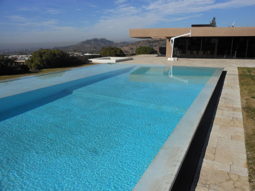 Revestimiento para piscinas agua de piedra arquimaster - Revestimientos de piedra ...