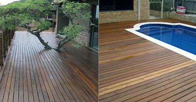 Decks y pisos exteriores de madera secretos y consejos for Tipos de pisos para exteriores