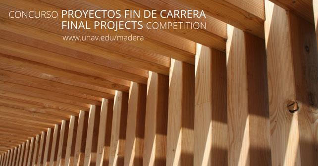 Iii Concurso C Tedra Madera Premio Al Mejor Proyecto Fin