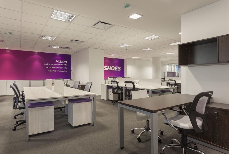 Netshoes inaugura sus nuevas oficinas administrativas en for Diseno de oficinas administrativas