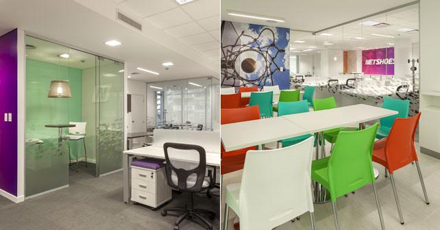Netshoes inaugura sus nuevas oficinas administrativas en for Planos de oficinas administrativas