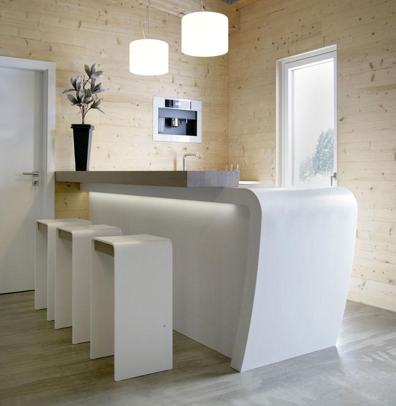 Una cocina de diseño sofisticado realizada en HI-MACS® | Arquimaster