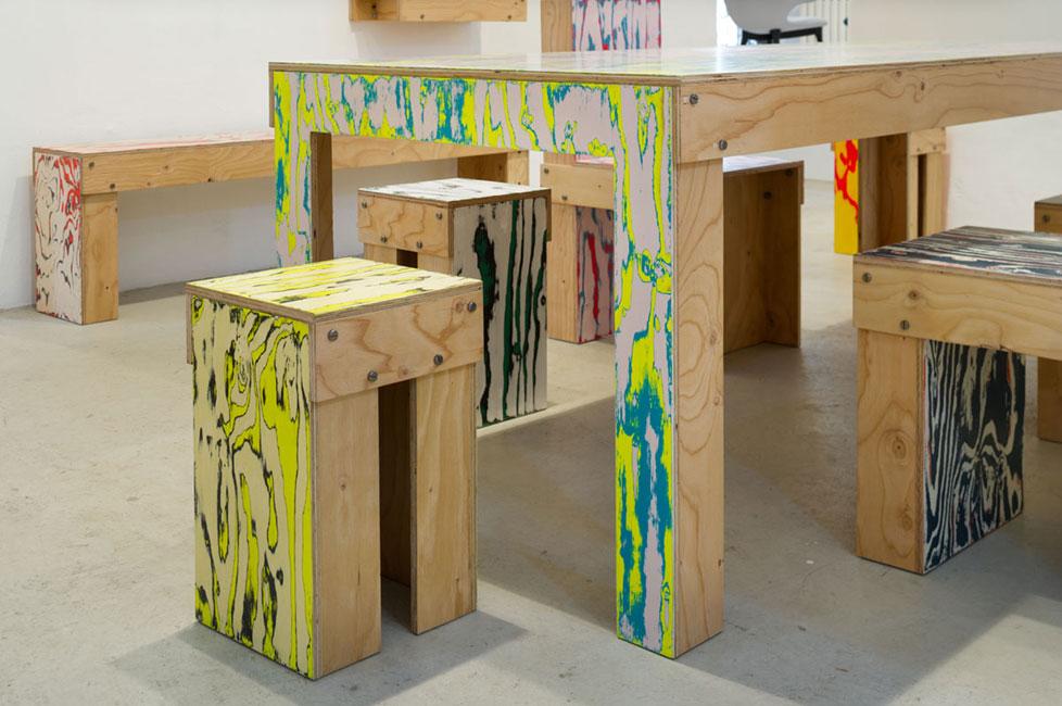 Muebles de madera estilo y tendencias arquimaster for Mobiliario madera jardin
