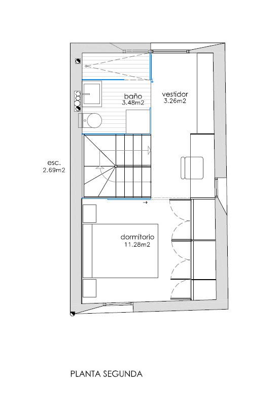 Casa enroque estudio rocamora dise o y arquitectura - Diseno y arquitectura ...