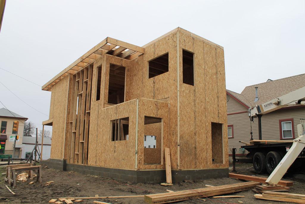 La construccion con madera puede ser la solucion al - Construcciones de casas de madera ...