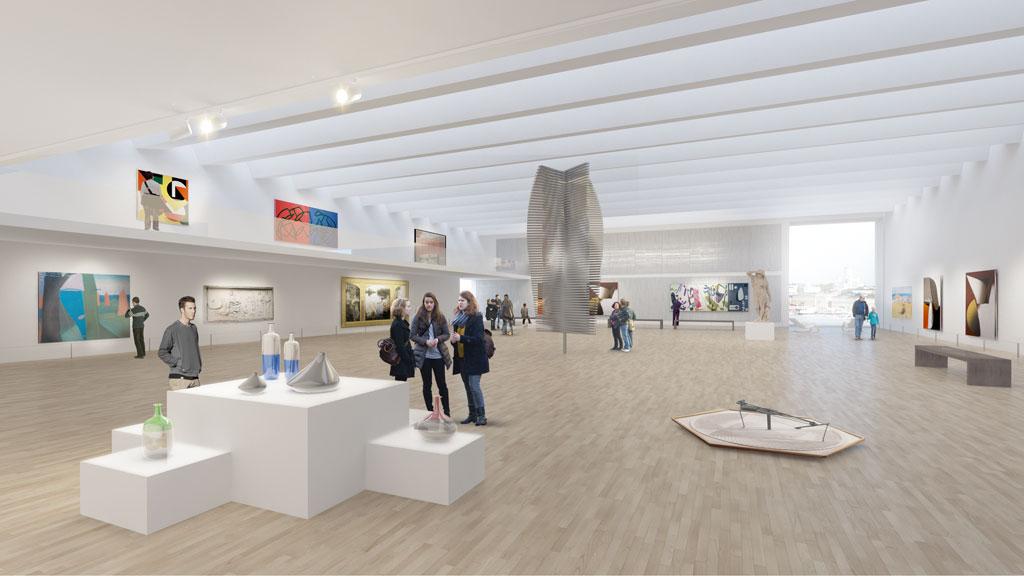 proyecto para museo guggenheim de helsinki acxt architects idom