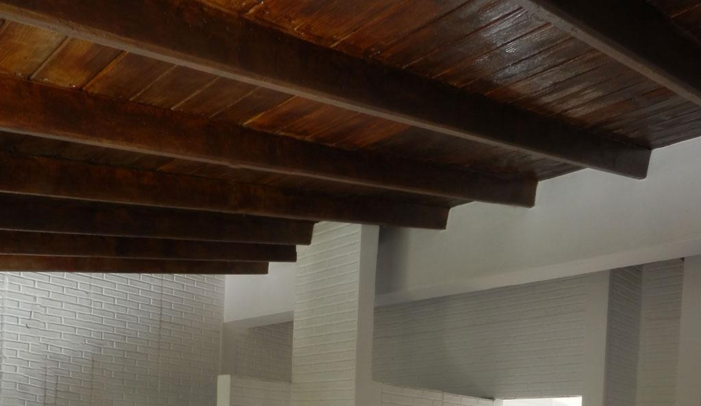 Techos de de techos de madera mircoles de abril de for Ideas para techos de madera