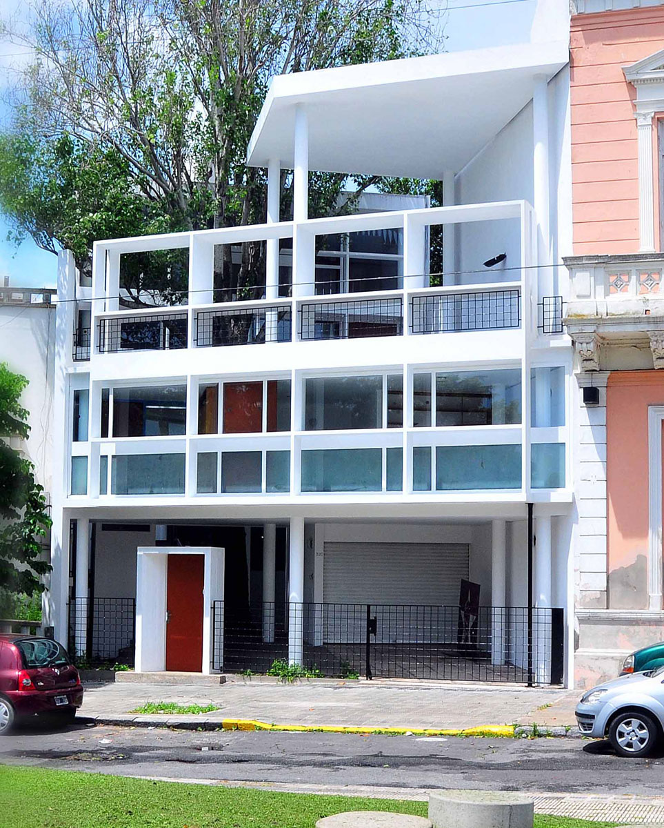 La Casa Dise Ada Por Le Corbusier En La Plata Postulada