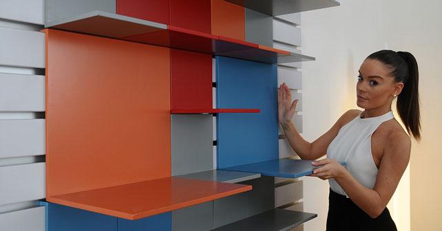 Pixel sistema de estanterias que combina dise o radical y for Diseno industrial mobiliario