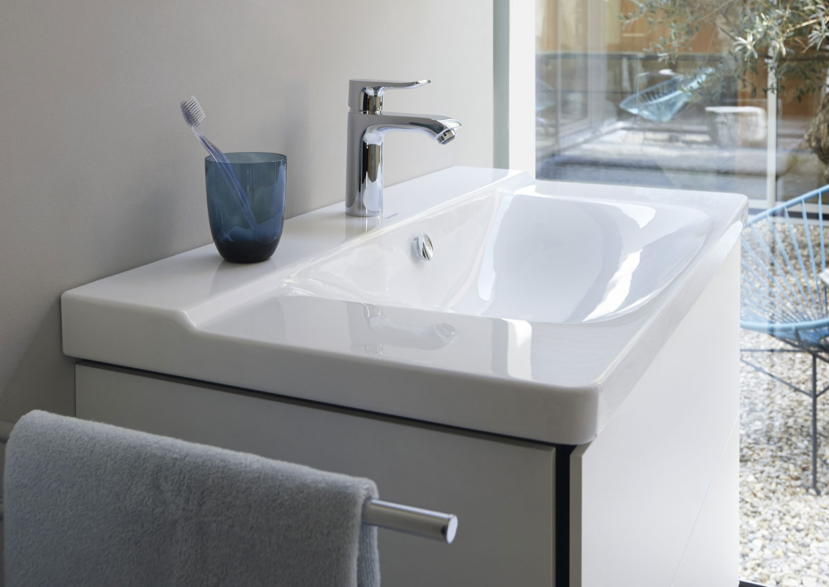 p3 comforts de duravit serena geometr a del lavabo arquimaster. Black Bedroom Furniture Sets. Home Design Ideas