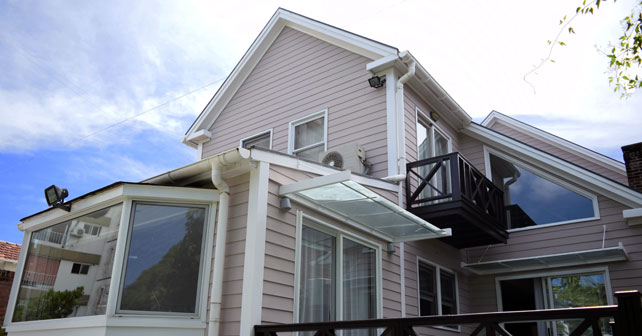 Casa en la lucila construida 100 en madera arquimaster - La casa de la madera ...